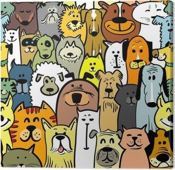 Koiria ja kissoja Kangastuloste