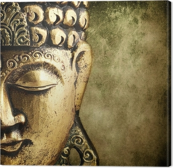 Kultainen buddha Kangastuloste