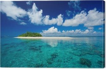 Trooppinen saari loma paratiisi Kangastuloste