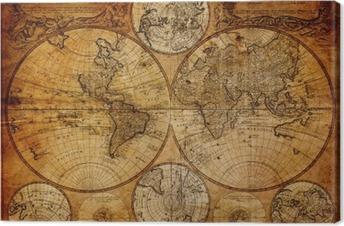 Vanha kartta (1746) Kangastuloste