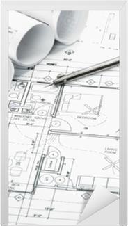 Kapı Çıkartması Inşaat planlama çizimleri