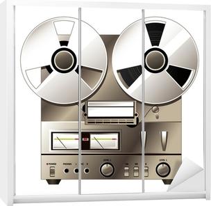 Retro Hi Fi Stereo Installatie