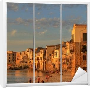 Kaststicker Scenes van Sicilië