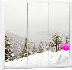 Kaststicker Sneeuwstorm