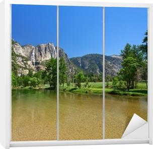 Kaststicker Yosemite Falls