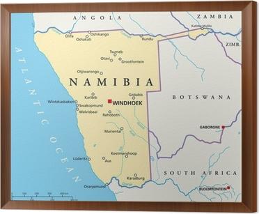 Namibian Kartta Namibia Landkarte Tapetti Pixers Elamme