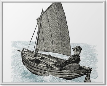 Canot à voile Kehystetty kuva