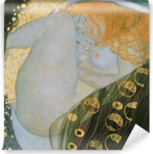 Kendinden Yapışkanlı Duvar Resmi Gustav Klimt - Danae