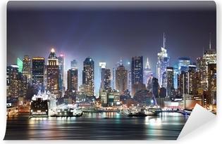 Kendinden Yapışkanlı Duvar Resmi New York Times Square
