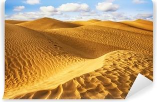 Kendinden Yapışkanlı Duvar Resmi Sahara desert - Douz, Tunus.