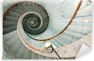 Kendinden Yapışkanlı Duvar Resmi Yüksek deniz feneri merdiven