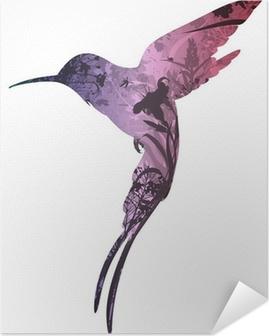 Kendinden Yapışkanlı Poster Kuşlar