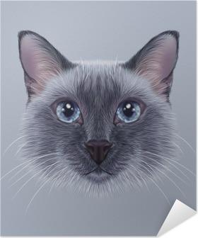Kendinden Yapışkanlı Poster Hayvanlar