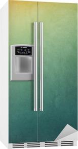 Textured Gradient Backgrounds Kjøleskapsklistremerke