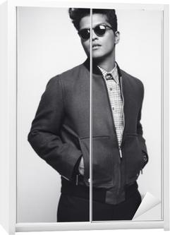 Klesskapklistremerke Bruno Mars