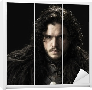 Klesskapklistremerke Jon Snow