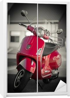 Klesskapklistremerke Scooter vintage