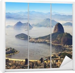 Klesskapklistremerke Sugarloaf, Rio de Janeiro, Brasil