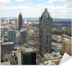 Aerial View of Atlanta, Georgia, USA Pixerstick klistermærke