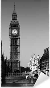 Big Ben Pixerstick klistermærke