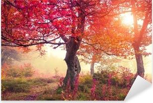 Efterårskov Pixerstick klistermærke