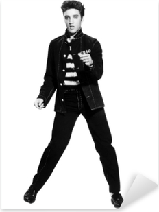 Elvis Presley Pixerstick klistermærke