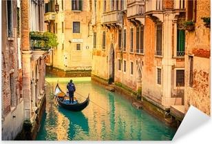 Kanal i Venedig Pixerstick klistermærke