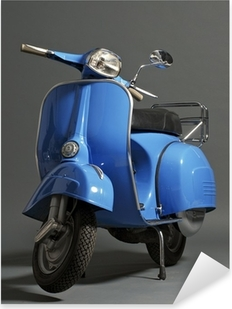 Klassisk italiensk scooter Pixerstick klistermærke