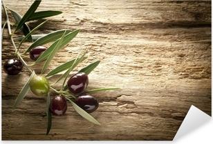 Oliven Pixerstick klistermærke