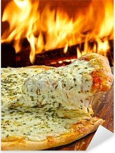 Pizza Pixerstick klistermærke