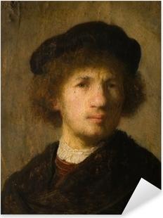 Rembrandt - Selvportræt Pixerstick klistermærke