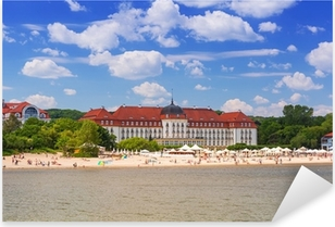 Sommer på Østersøen i Sopot, Polen Pixerstick klistermærke