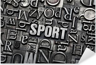 Sport Pixerstick klistermærke