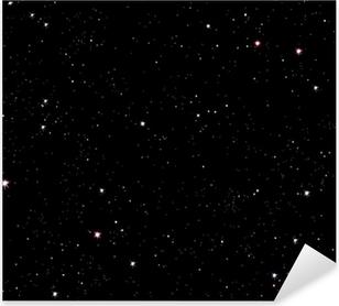 Stjerneklar nat Pixerstick klistermærke