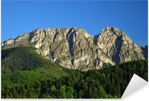 Tatra bjergene Giewont Pixerstick klistermærke