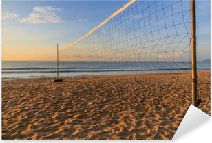 Volleyball net Pixerstick klistermærke