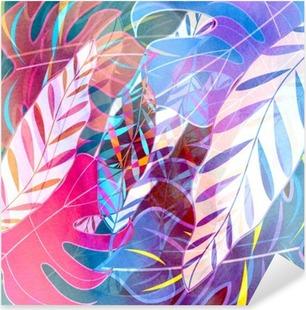 Pixerstick-klistremerke Abstrakt akvarell bakgrunn