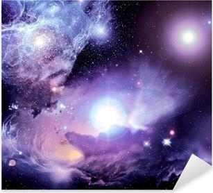 Pixerstick-klistremerke Fantasy Space Nebula