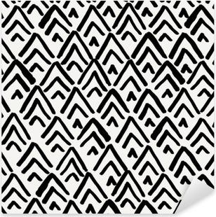 21956e1c Pixerstick-klistremerke Geometrisk sømløs mønster