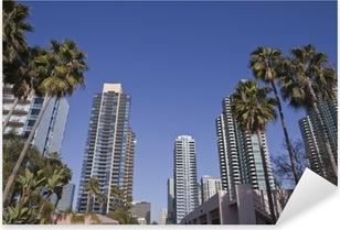 Pixerstick-klistremerke Moderne San Diego