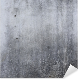 Pixerstick-klistremerke Sementveggtekstur, grov betongbakgrunn