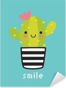 Pixerstick-klistremerke Smile