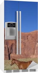 Koelkaststicker Monument Valley