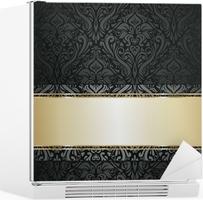 Fotobehang zilveren luxe vintage behang u2022 pixers® we leven om te