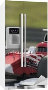 Formel 1 race bil Køleskab klistermærke