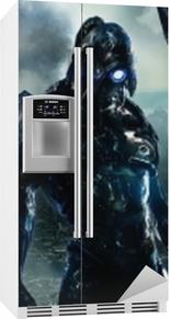 Masseffekt Køleskab klistermærke