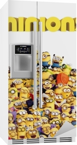 Minions Køleskab klistermærke