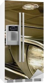 Mustang Køleskab klistermærke