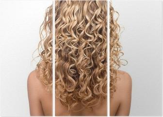 Kauneus tyttö blondi permed hiukset. takapuoli Tapetti • Pixers® - Elämme  muutoksille 9e7f4cdad2