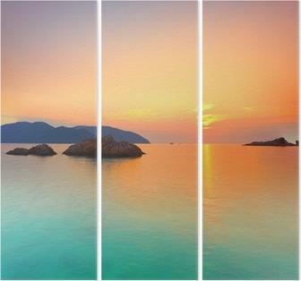 Sunrise Kolmiosainen